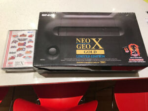 Neo Geo X Gold Limited Edition + Mega Pack Vol 1