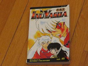 MANGA     BD / INU YASHA TOME 16    ANGLAIS VIZ  format +