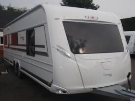 BRAND NEW 2018 LMC 695 VIP ISLAND BED WITH SEPERATE SHOWER CUBICLE CARAVAN