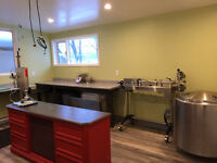 Commercial Kitchen for Small Scale Food Processing