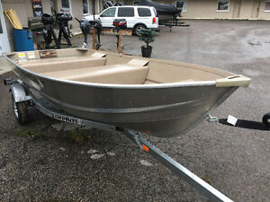 New 12' 14' 16 BOAT + MOTOR + TRAILER PACKAGE