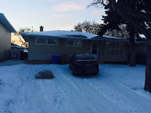 Two bed room basement at Grosvenor St. , Regina