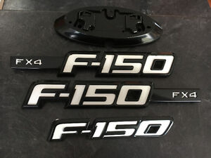 09-14 Ford F-150 painted emblems Comox / Courtenay / Cumberland Comox Valley Area image 1