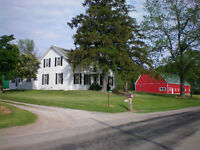 Beautiful Farm for Sale, Lakeview  Long Point Bay, Creek, Forest