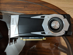 GTX 1060 Founders Edition - 6GB