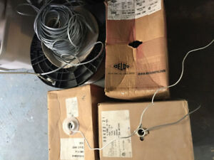 5 rolls of communication cable