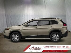2016 Jeep Cherokee Limited   - Leather Seats - Heated Seats - Lo