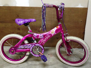 Girls Barbie 16 inch Bicycle for Sale