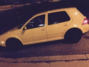 2007 VW Golf 204K 5 speed