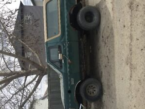 1988 ford bronco full size