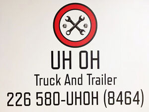 Mobile Repair service - Truck, Tractor, Trailer, RV