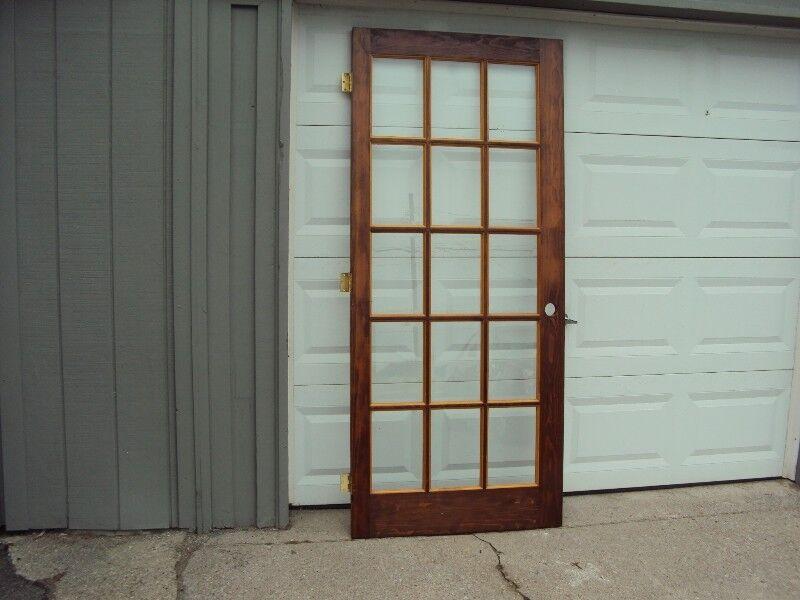 Bevelled Glass Door Windows Doors Trim Barrie Kijiji