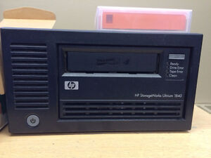 HP Ultrium 1840 Tape Drive and Tapes
