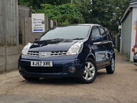 2007 Nissan Note 1.6 16v auto Acenta ONLY 45K MILES DONE, AUTOMATIC