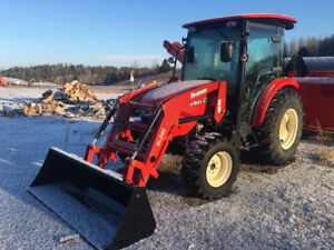 47HP 4x4 with Cab and Loader NO Payments till June 1st 2019