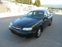 2002 Chevrolet Malibu Auto 129000kms Leather Sunroof