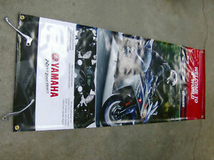 YAMAHA 2015 YZF-R3 PROMOTIONAL BANNER Cambridge Kitchener Area image 1