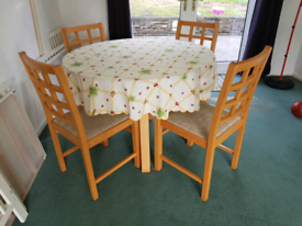 Dining Glass Table for 4