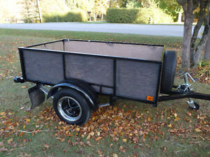 VERY NICE UTILITY TRAILER HEAVY DUTY ( SOLD ! )