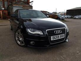 AUDI A4 2.0 TDI S LINE AUTOMATIC,HPI CLEAR,1 OWNER,LEATHER,CRUISE,XENON,P/SENSOR,FULL SERVICE HISTRY