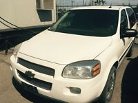 2009 Chevrolet Uplander whit Safety and E Test