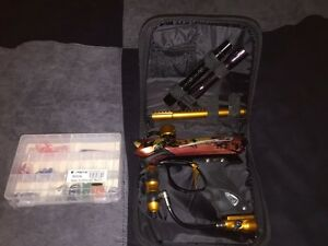Paintball gear including paintball markers