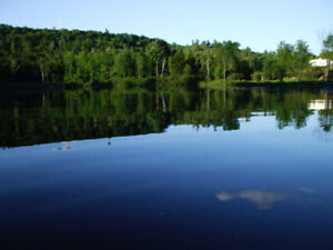 27 acres.Business opportunity with a small private lake
