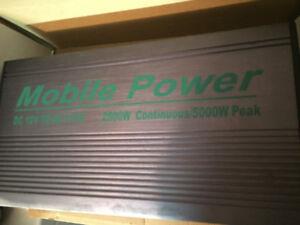 Big Power Inverter = 2500/5000 Watt