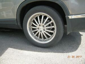 19 inch chrome RTX wheels and tires
