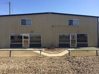 COMMERCIAL SHOP FOR RENT IN STETTLER, ALBERTA
