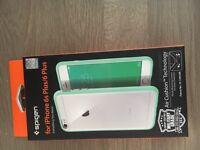 Spigen iPhone cover 6 Plus or 6s Plus. Mint green