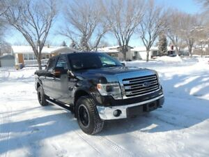2013 Ford F-150 4X4 Lariat SuperCrew