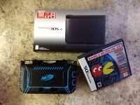 3ds xl Black. 1+ year warranty included.