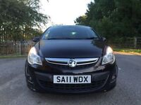 Vauxhall corsa SRI black special edition spotless face lift