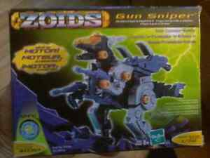 Zoids Gun Sniper Model Kit Wind-Up 1/72 Hasbro 2002