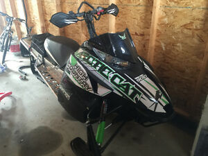 2012 Arctic cat xf 800 high country for sale