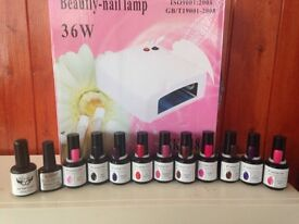 Brand new gel nail kit all sealed CAN POST