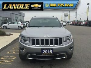 "2015 Jeep Grand Cherokee Limited   SUNROOF-20"" WHEELS-GREAT PRIC Windsor Region Ontario image 12"