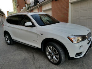 BMW X3 2016 XDRIVE 28I, Fully loaded premium