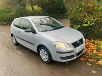 2007 VOLKSWAGEN POLO 1.2 E MOTD TO FEBRUARY 2-OWNERS DRIVES FIRST CLASS 2-KEYS