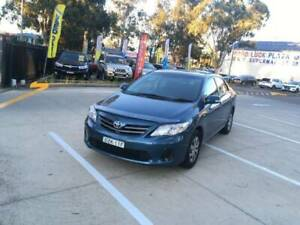 2010 Toyota Corolla 4 Cylinder  logbooks  115,000 March 2020 Rego Mount Druitt Blacktown Area Preview