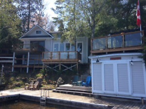 Kawartha Upper Stoney Lake 6 Bedroom 4 Season Cottage Rental