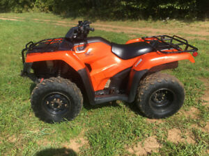 2014 HONDA 420 FOURTRAX WITH EPS.......FINANCING AVAILABLE