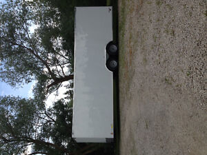 24x8.5 continental enclosed trailer