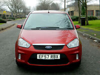 2007 57 Ford C-Max 1.6 TDCi DPF Zetec 5dr WITH FULL LEATHER+SATNAV+FSH++
