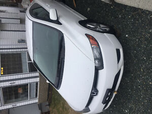 2008 Honda Civic White Coupe (2 door)