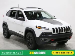 2017 Jeep Cherokee Trailhawk 4WD MAGS TOIT PANORAMIQUE BLUETOOTH