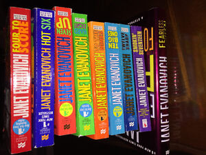 James Patterson, Janet Evanovich and Clive Cussler books