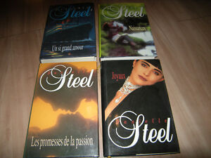 Lot de 16 livres (Danielle Steel)