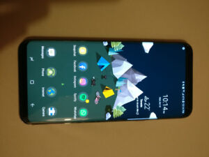Galaxy S8+ with LED cover